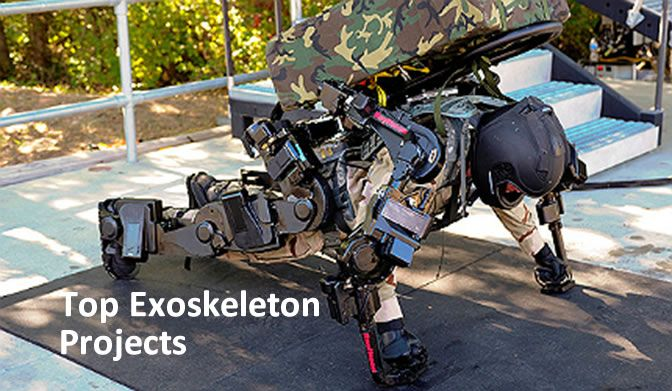 Top Exoskeleton Projects