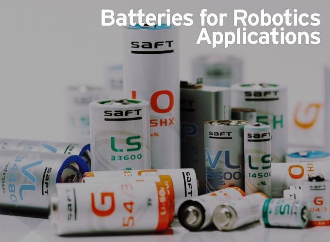 Batteries for Robotics Applications