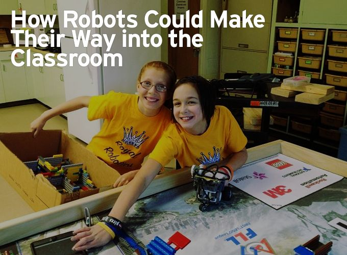 How Robots Could Make Their Way into the Classroom