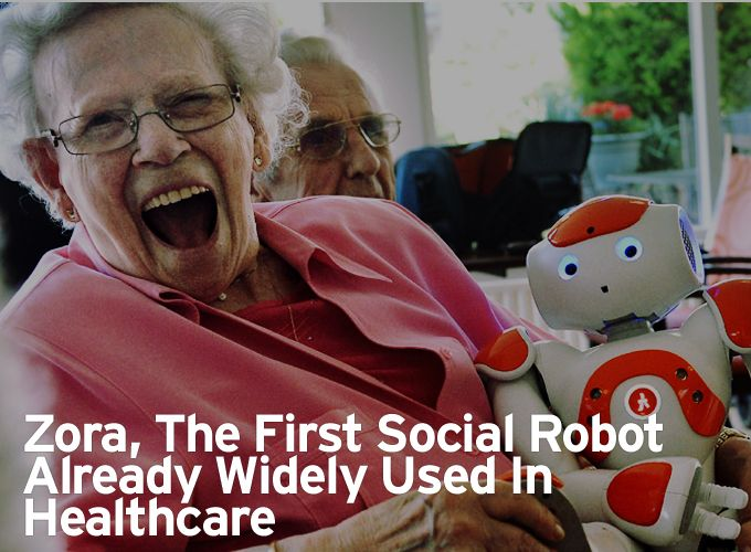 Zora, The First Social Robot Already Widely Used In Healthcare