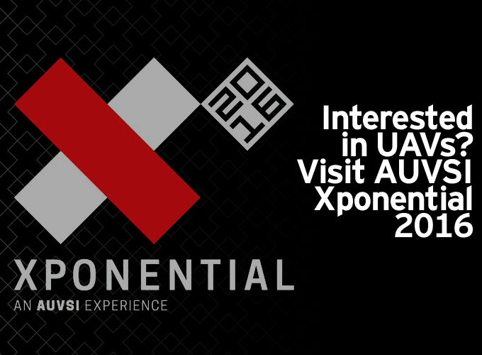 Interested in UAVs?  Visit AUVSI Xponential 2016