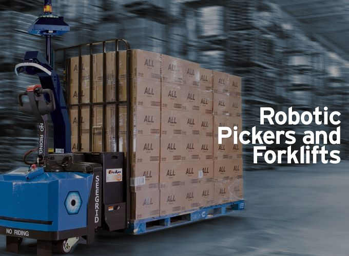Robotic Pickers and Forklifts