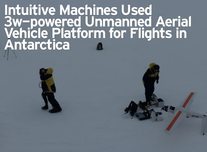 Intuitive Machines Used 3w-powered Unmanned Aerial Vehicle Platform for Flights in Antarctica
