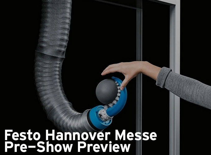 Festo Hannover Messe Pre Show Preview