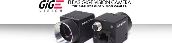 Point Grey Adds 120 FPS VGA Models to World's Smallest GigE Camera Line