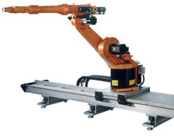 IPR Robotics - Right-Sized 7th Axis Robot Linear Rails