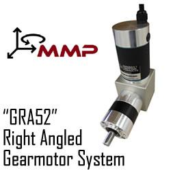 "Midwest Motion Products Inc - ""GRA52"" Right Angled Gearmotor System"
