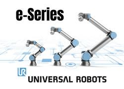 Universal Robots Add a Sense of Touch in New e-Series Cobots with  Built-in Force/Torque Sensor and Re-Designed User Interface