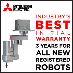 Mitsubishi Electric Automation, Inc. - BEST INITIAL WARRANTY – 3 YEARS FOR ALL NEW REGISTERED ROBOTS