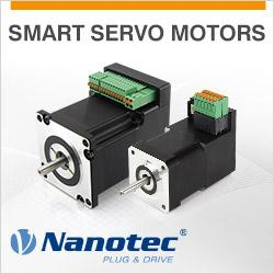 Nanotec – Programmable DC servos with integrated controller