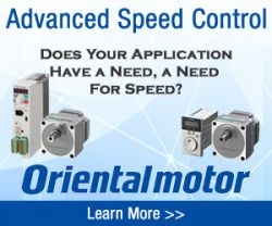 Oriental Motor - Battery-Free, Absolute Sensor Equipped Motor and Driver package