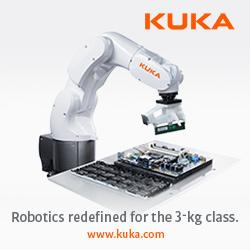 New KUKA Robot:  KR 3 AGILUS Maximum performance in minimum space