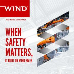 WIND RIVER LEADS THE WAY IN SAFETY SOLUTIONS FOR CRITICAL INFRASTRUCTURE.