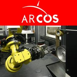 Arcos - Robotized system for cutting and grinding turbine blades
