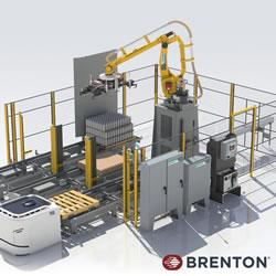 Brenton - Case Packing and Palletizing using both Robotics and other Automation.