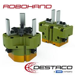 Destaco's PNEUMATIC PARALLEL GRIPPERS - RTH & RDH