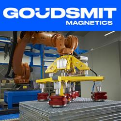 Goudsmit Magnetics – Magnetic robot grippers for automated processes