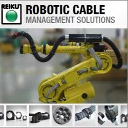 REIKU's Cable Saver™ - The Most Versatile Modular Robotic Cable Management Solution