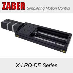 Zaber's X-LRQ-DE Series:  High Precision Stages with Built-in Controllers and Linear Encoders