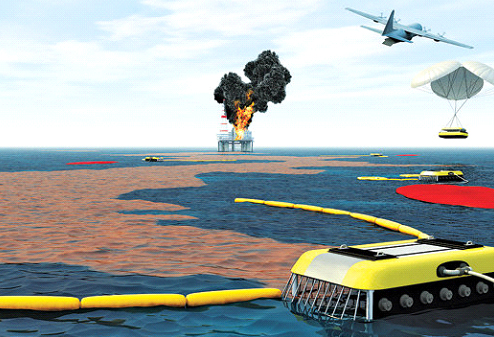 Using Robots to Clean Oil Spills | RoboticsTomorrow