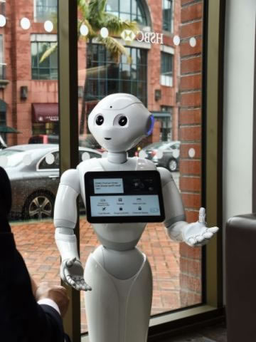 HSBC Bank and SoftBank Robotics America Enhance Beverly Hills