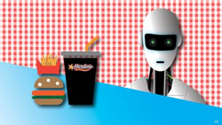The US service-sector jobs at risk from a robot revolution