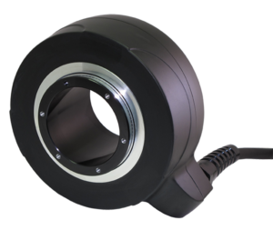 Custom torque motor actuator with integrated encoder and electronic controller for GPS-based steering system