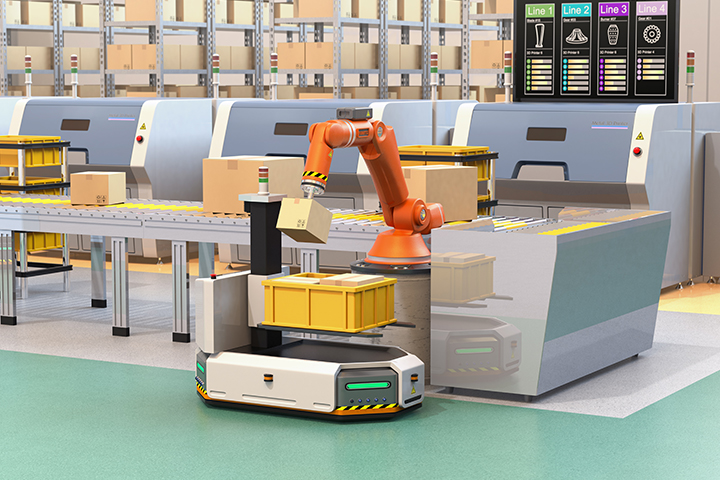 Amazon's automated inventory management to manage product demand