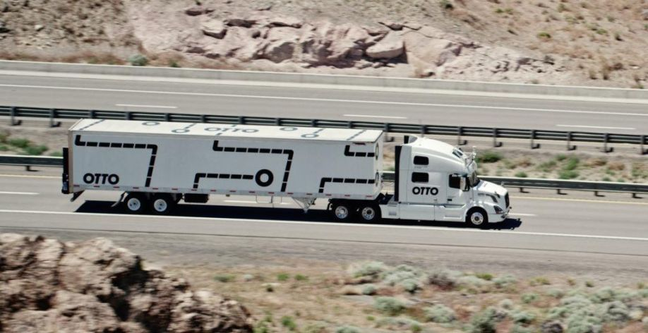 Image result for autonomous driving trucks Otto