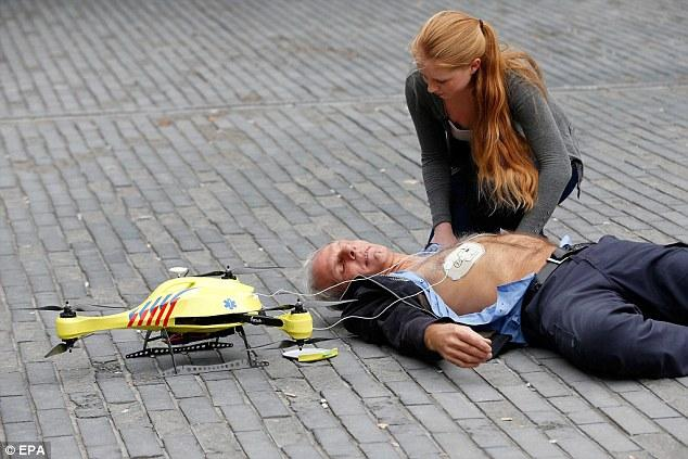 Image result for drones saving lives