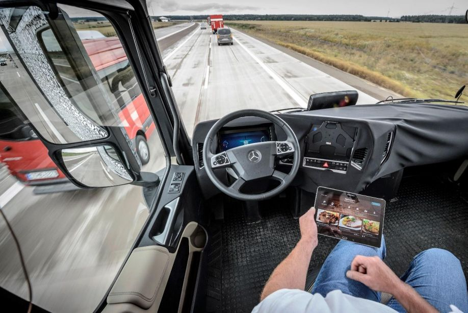 Image result for autonomous driving trucks