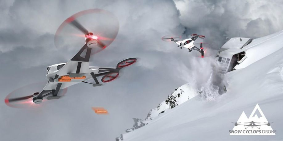 Snow drone[15]