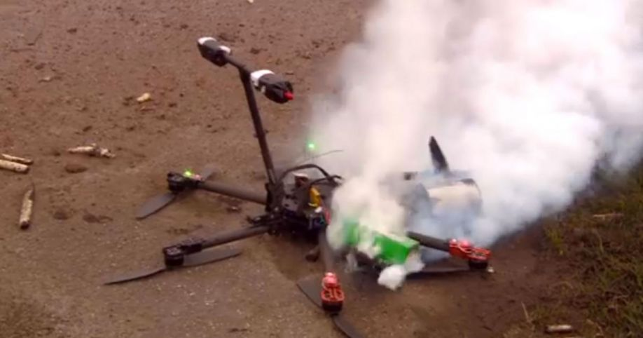 Image result for drone crashes