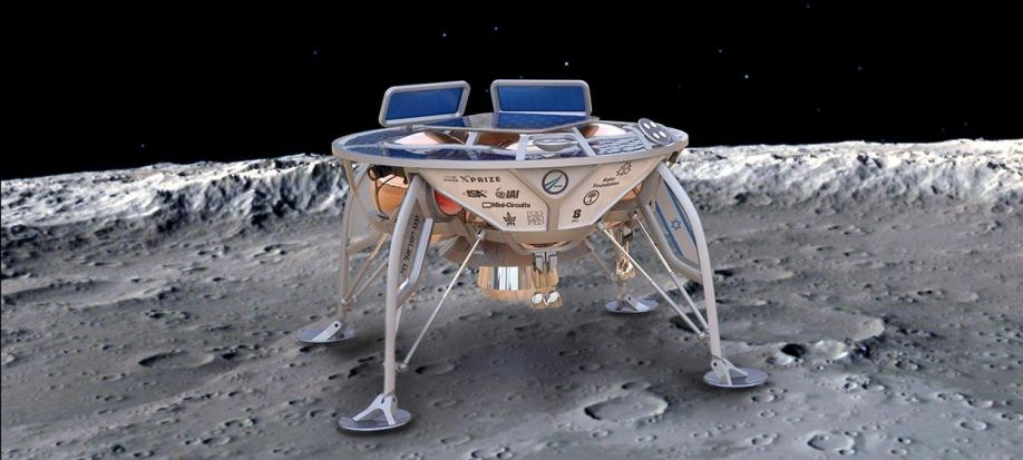 Image result for Space IL's lunar craft